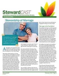 LCMS February 2018 StewardCAST Newsletter