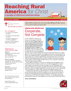 LCMS March 2018 Rural & Small Town Mission (RSTM) Newsletter