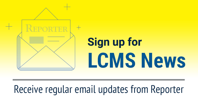 Sign up for LCMS News