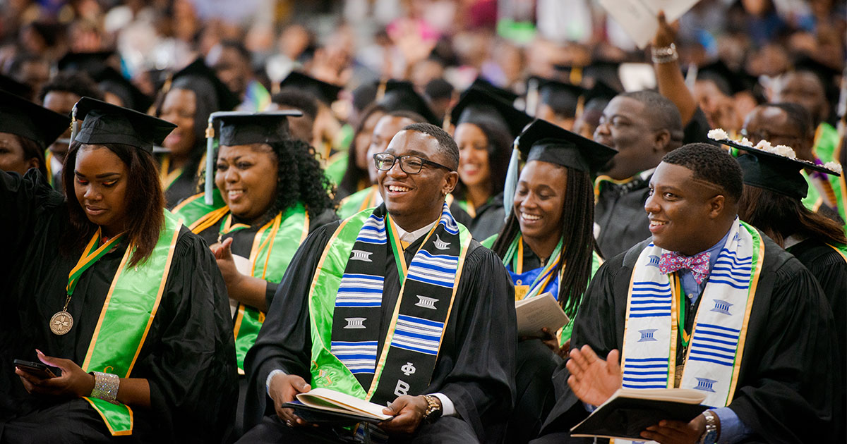 Concordia College Alabama held its 92nd and final graduation ceremony on Saturday, April 28, in Selma, Ala. Founded in 1922, the historically black Lutheran college closed following the ceremony after a multi-year effort to stay open. (LCMS/Erik M. Lunsford)