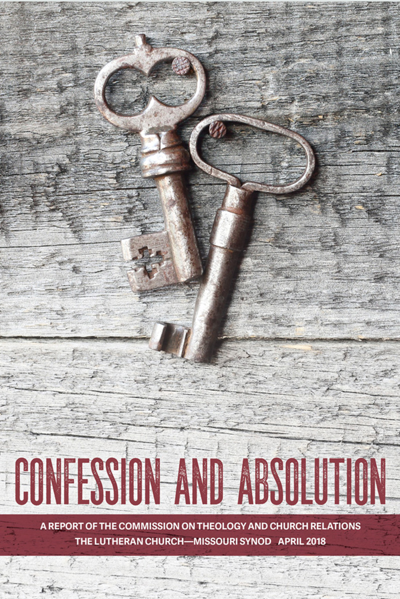 CTCR releases new report on confession and absolution