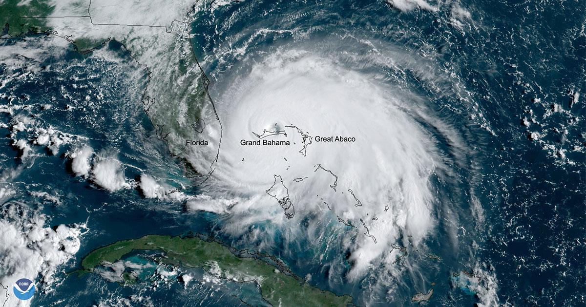 Hurricane Dorian September 2 2019 Reporter