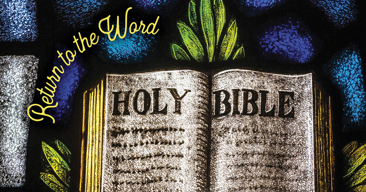 February 'Witness': Reading the Bible